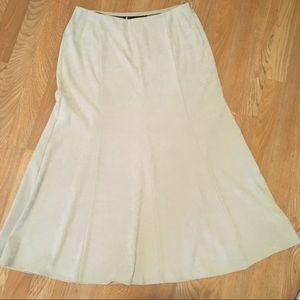 NWOTNorton Mcnaughton  midi micro fabric skirt